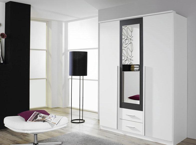 schrank kleiderschrank 62538. Black Bedroom Furniture Sets. Home Design Ideas