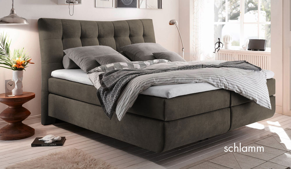 boxspringbett malibu. Black Bedroom Furniture Sets. Home Design Ideas