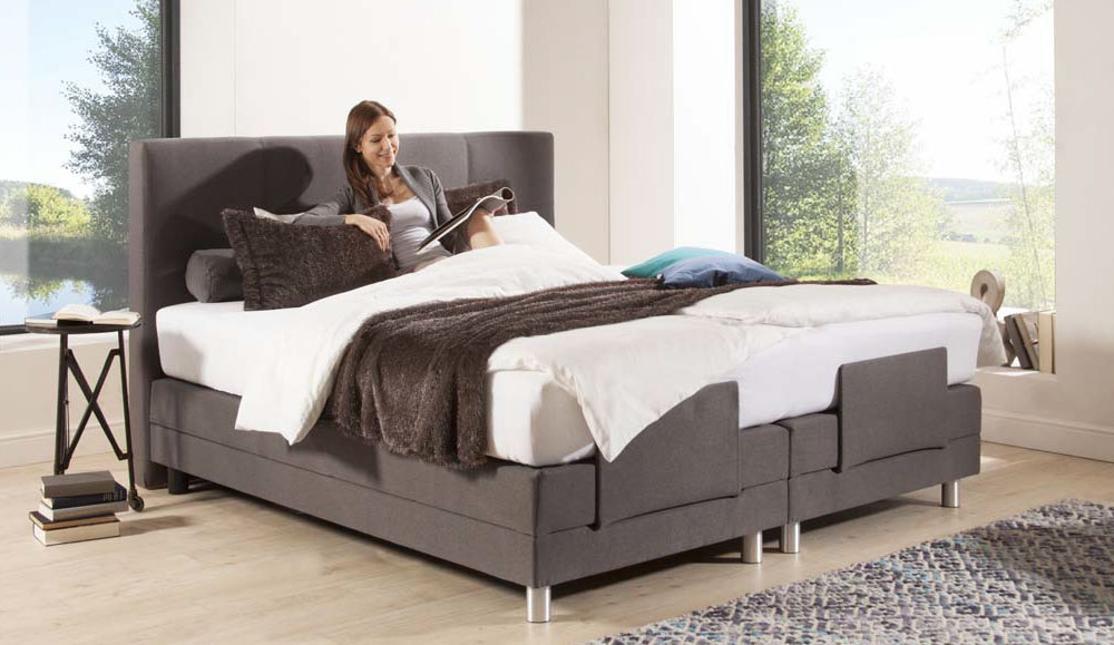 boxspring bett gallery of collection ab rubene inkl. Black Bedroom Furniture Sets. Home Design Ideas