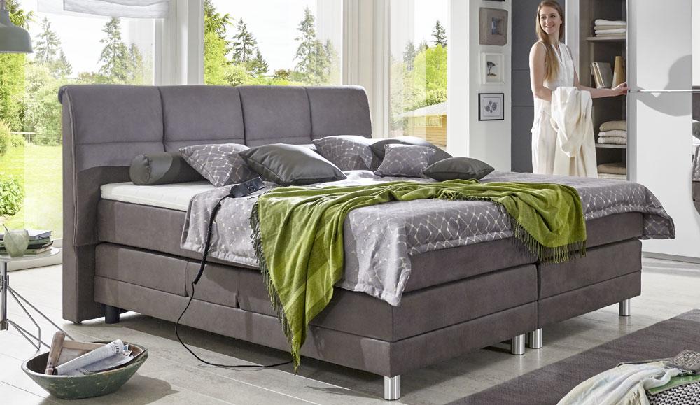 boxspringbett enrico. Black Bedroom Furniture Sets. Home Design Ideas