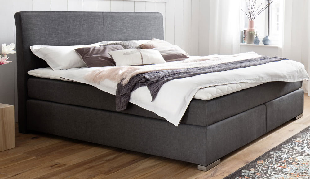 boxspringbett lenno. Black Bedroom Furniture Sets. Home Design Ideas