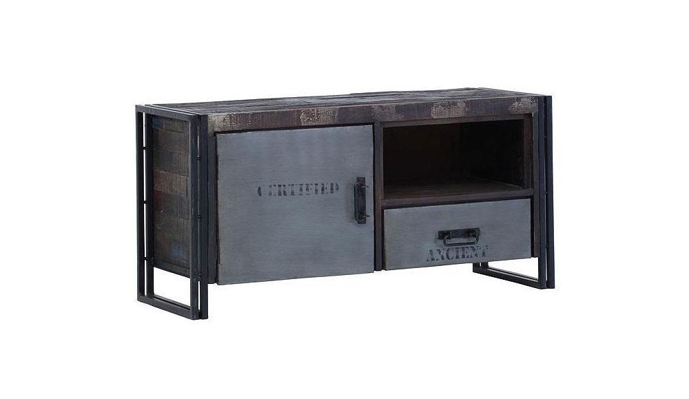 tv tisch titan. Black Bedroom Furniture Sets. Home Design Ideas